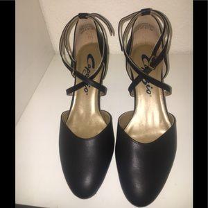 Capezio black dance heels